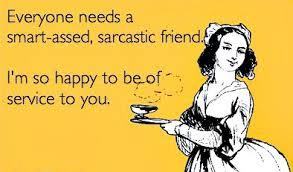 friend sarcastic