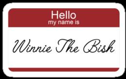 winnie the bish