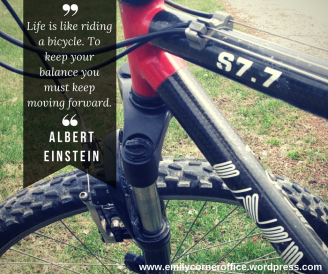 life-is-like-riding-a-bicycle-to-keep-your-balance-you-must-keep-moving-forward